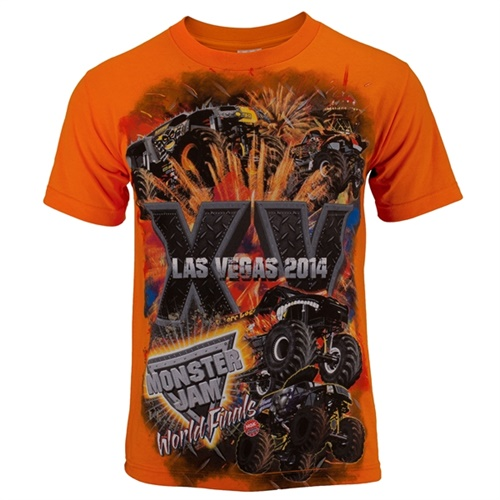 World Finals XV Stackem Orange Tee