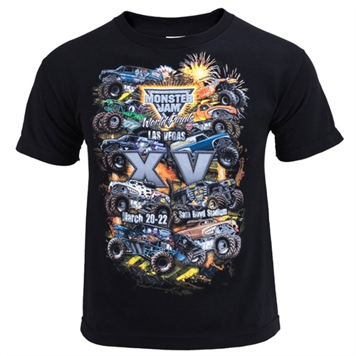 World Finals XV Danger Zone Youth Black Tee