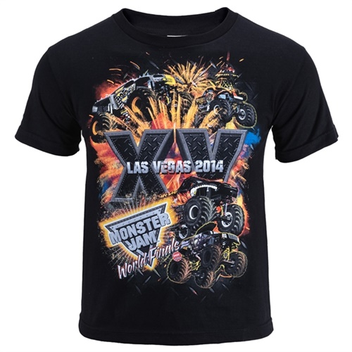 World Finals XV Stackem Youth Black Tee