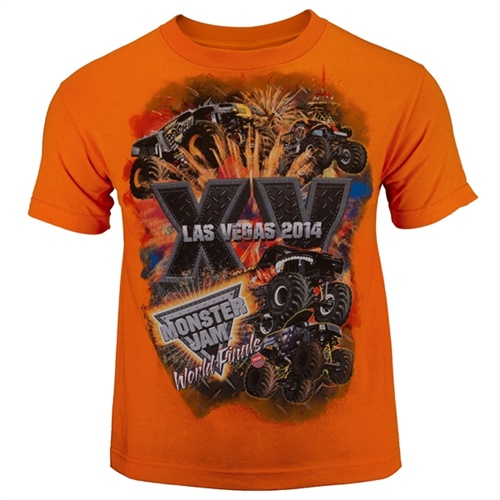 World Finals XV Stackem Youth Orange Tee