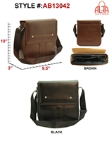 AB13042 - ALFA Signature Men's Messenger (24pcs per case)
