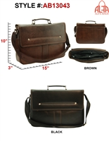 AB13043 - ALFA Signature Men's Messenger (24pcs per case)