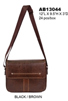 AB13044 - ALFA Signature Men's Messenger (24pcs per case)