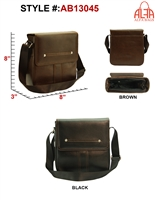 AB13045 - ALFA Signature Men's Messenger (24pcs per case)