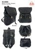 BA0006 - Washed PU Leather Anti-thief Back Zipper Backpack - (24pcs per case)
