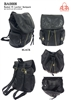 BA0008 - Washed PU Leather Anti-thief Back Zipper Backpack - (24pcs per case)