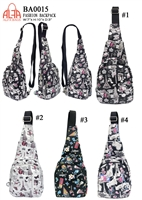 BA0015 - Digital Print Single Strap Fashion Backpack (24pcs per case)