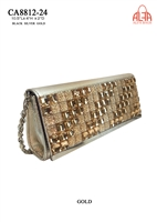 CA8812-24 - Elegant Bling Bling Evening Clutch (24pcs per case)