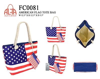 FC0081 - ALFA Signature Tote Bag (36pcs per case)