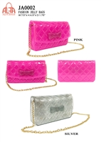 JA0002 - ALFA BAG Designer JELLY Crossbody  (12pcs per case)