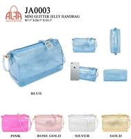 JA0003 - ALFA BAG Designer JELLY Crossbody  (12pcs per case)