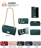 JA0005 - ALFA BAG Designer JELLY Crossbody  (12pcs per case)