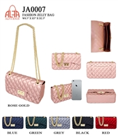 JA0007 - ALFA BAG Designer JELLY Crossbody  (12pcs per case)