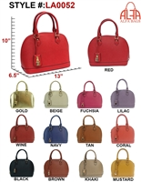 LA0052 - ALFA BAG Designer Handbag (12pcs per case)