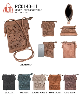 PC0140-11 - ALFA BAGS Fashion Purse (12pcs per case)