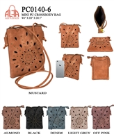 PC0140-6 - ALFA BAGS Fashion Purse (12pcs per case)
