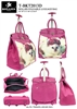 T-BKT2013D - Princess Persian Cat Rollies Rolling Tote ( 6pcs per case)
