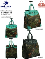 T-CAM2013 - Camouflage Hunting Rollies Rolling Tote ( 6pcs per case)
