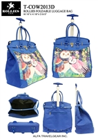 T-COW2013D - Owls Story Rollies Rolling Tote ( 6pcs per case)