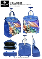 T-ISA2013D - Sea Turtle Rollies Rolling Tote ( 6pcs per case)