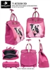 T-JCD2013D - Princess Dog Rollies Rolling Tote ( 6pcs per case)