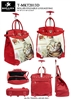 T-MKT2013D - Thinking of my Love Kitten Rollies Rolling Tote ( 6pcs per case)