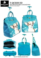 T-QCD2013D - No.1 ChiHuaHua Rollies Rolling Tote ( 6pcs per case)