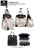 T-RBL2013D - Rome Romantic Destination Rollies Rolling Tote ( 6pcs per case)