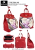 T-TKT2013D - Kitten Love Warm Rollies Rolling Tote ( 6pcs per case)