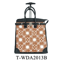 T-WDA2013B - Embroidery Rollies Rolling Tote ( 6pcs per case)