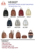 Victoria Elizabeth Fashion Backpack (12pcs per case)