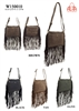 W150010 - American Style Fringe Crossbody Purse (24pcs per case)