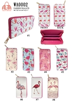 WA0002 - Flamingo Fashion Wallet (72pcs per case)
