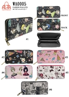 WA0005 - Girls Dream Fashion Wallet (72pcs per case)