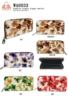 WA0033 - Floral Paint Fashion Wallet (72pcs per case)