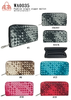 WA0035 - Colored Pixel Fashion Wallet (72pcs per case)