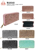 WA0040 - Glitter Fashion Wallet (72pcs per case)