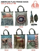WP301/302/303/304/305 - American Flag Style Fringe Faux Leather Purse (24pcs per case)
