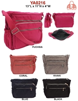 YA0216 - ALFA Nylon Crossbody (24 pcs per case)