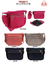YA6611 - ALFA Nylon Crossbody (24 pcs per case)