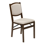 Stakmore Contemporary Upholstered Back Folding Chair