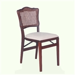 Stakmore French Cane Folding Chair