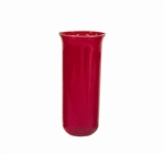 Replacement Ruby Mortuary Glass