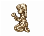 Praying Girl Applique