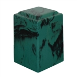 Emerald Agean Cultured Marble Urn