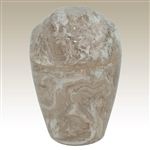 Syrocco Small Grecian Cultured Marble Urn