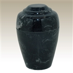 Ebony Small Grecian Cultured Marble Urn