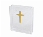 Clear Lucite Memorial Contribution Box