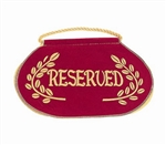 "Deluxe ""Reserved"" Seat Signs"