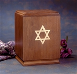 Star of David - Walnut